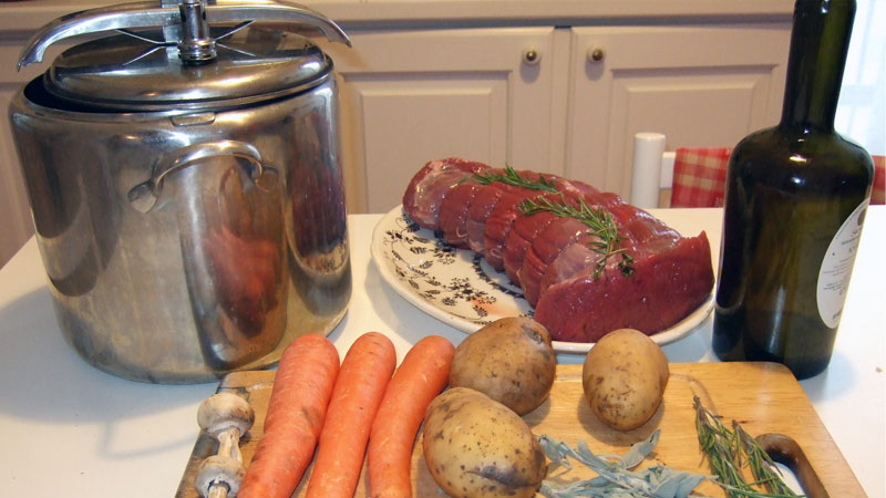 pentola a pressione per cucinare in tranquillità